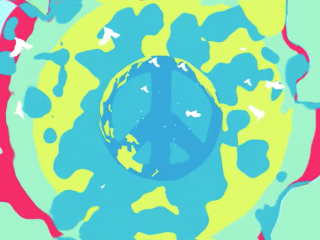 Looped Gifs + Motion Tricks – 3. Peace